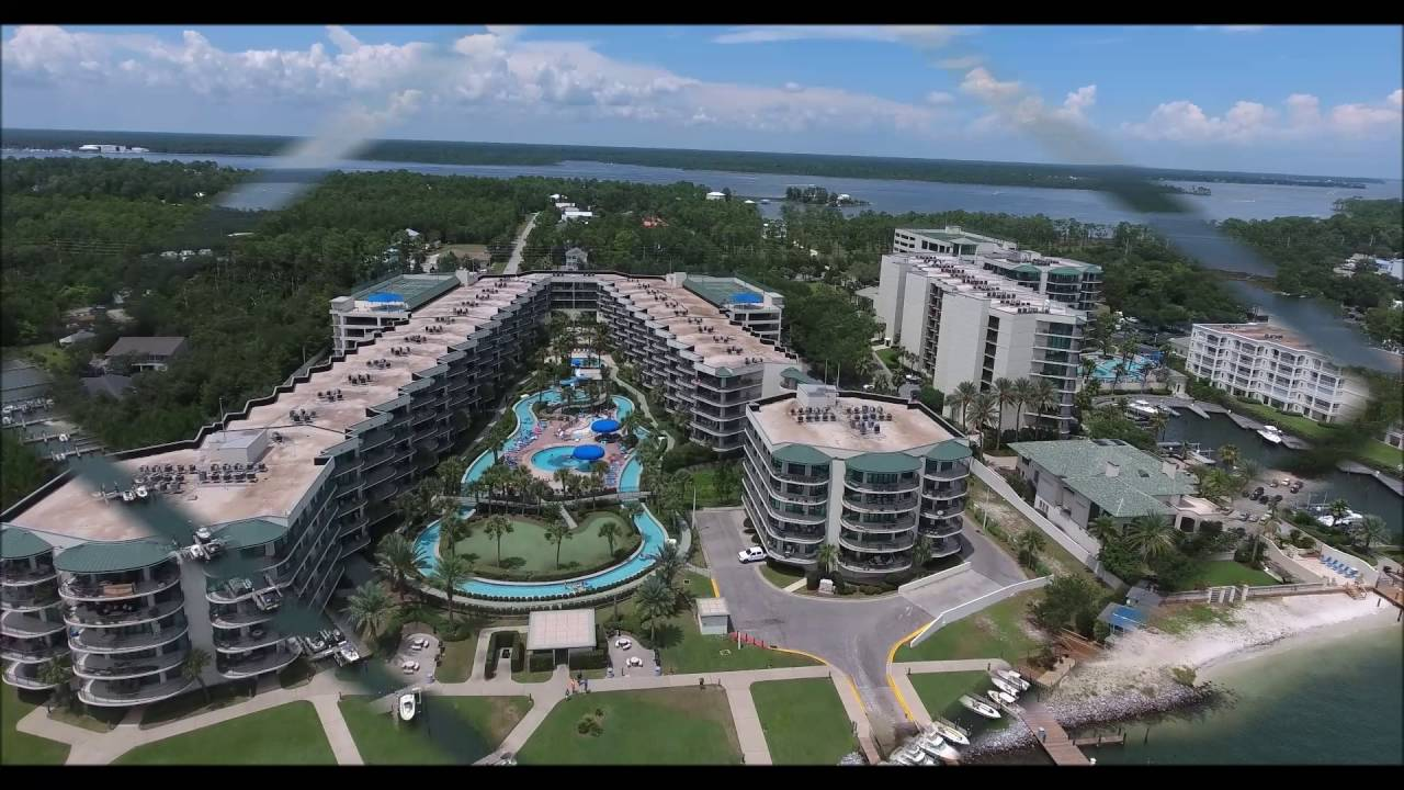 Phoenix On The Bay Condos Aerial Video In Orange Beach Al