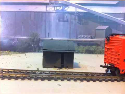 Model Railroads: Scratch building.  Making cheap mock ups, how to practice, and tips.