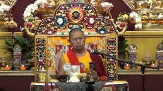 Teaching on Phowa by Garchen Rinpoche 2/2 噶千仁波切頗瓦法教授下集(1/25/2014)