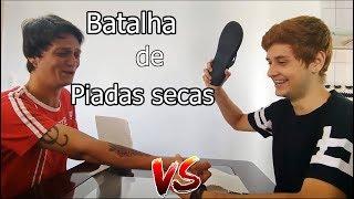 BATALHA DE PIADAS SECAS - THIX Vs IRMÃO  ( NÃO PODE RIR )