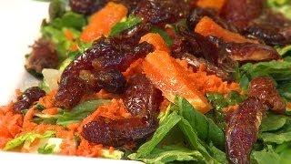 How To Make Carrot, Date & Orange Salad
