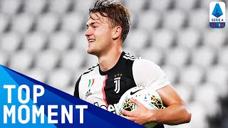 De Ligt Wraps up the Win with a Late Header! | Juventus 4-0 Lecce | Top Moment | Serie A TIM