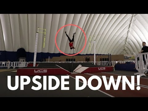 first-pole-vault-practice