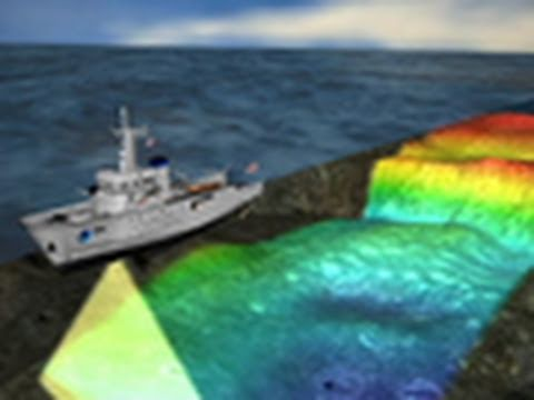 "Scientists ""See"" Ocean Floor via Sonar 