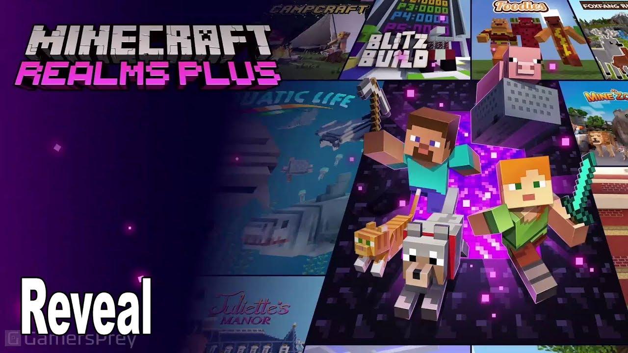 Minecraft Realms Plus - Reveal MineCon 8 [HD 8P]