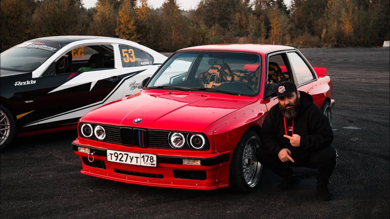 BMW E30 - Питерский дрифт, мерсоводам обязательно к просмотру!