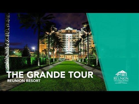 The Grande at Reunion Resort Tour | Aerial Views