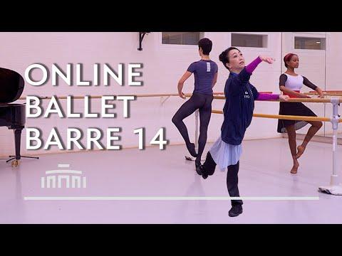 Ballet Barre 14 (Online Ballet Class) - Dutch National Ballet