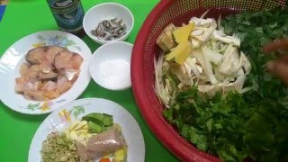 សម្លករកូរ |  Asian food | Cambodia food | Khmer food | Asian food compilation #6