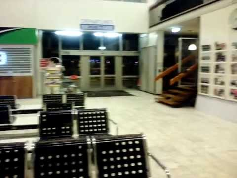 BSÍ - REYKJAVIK bus terminal in night hours / Автовокзал Рейк'явіка