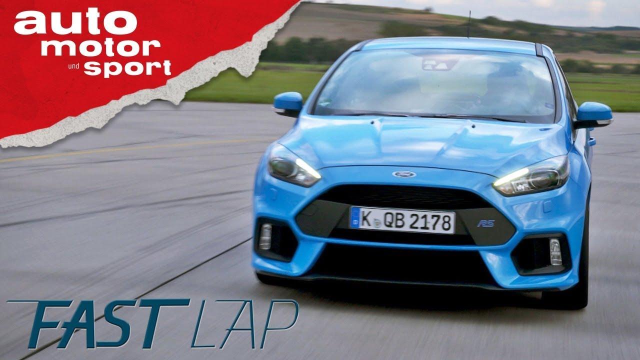Ford Focus RS: Mit Drift-Mode zum Erfolg? - Fast Lap   auto motor ...
