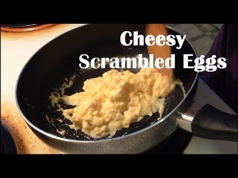 cheese whiz scrambled eggs