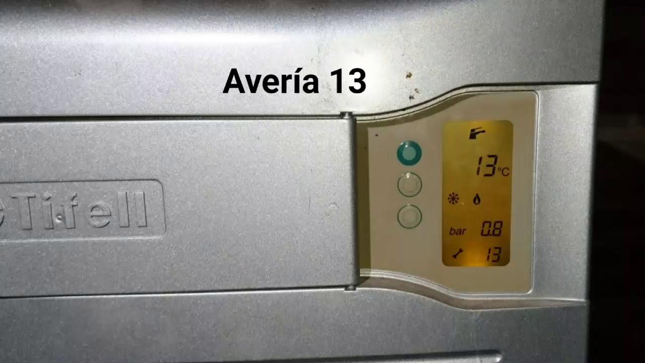 Tifell eurofell c digo 13 o aver a 13 doovi for Averias de calderas roca