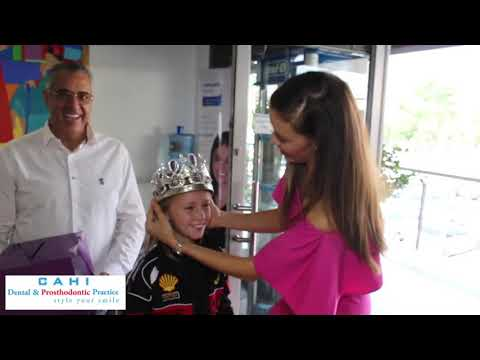 Miss South Africa 2017 visits Dr Norman Cahi