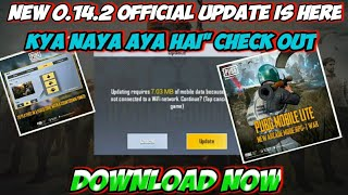 Pubg Mobile Lite New update 0.14.2 official is here | Whats New Check out