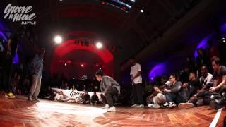 GROOVE'N'MOVE BATTLE 2015 - Hip-Hop quarter-final / Tutur&Fion vs Perla&Stylez'c