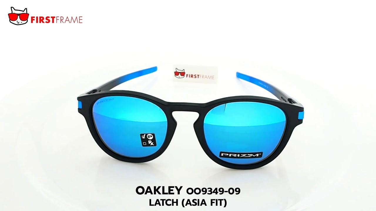 ace2c3a707 OAKLEY OO9349-09 LATCH (ASIA FIT) - YouTube