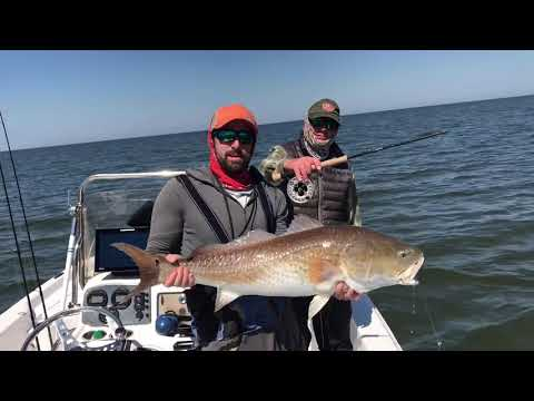 Big Redfish, Broken Rod