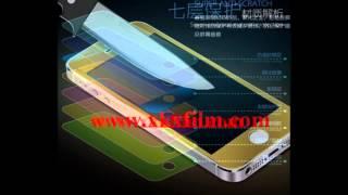 iphone 5S цвет закаленное стекло экрана протектор(iphone 5S цвет закаленное стекло экрана протектор www.xkxfilm.com., 2014-05-06T08:20:42.000Z)