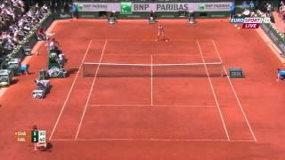 S. Halep vs. M. Sharapova Women