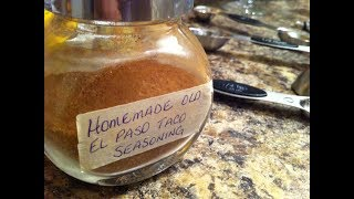 Homemade Old El Paso Taco Seasoning Recipe -  Tips & Tricks #29