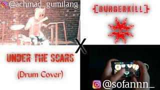 Burgerkill - Under The Scars (Drum Cover) @achmad_gumilang x @sofannn_