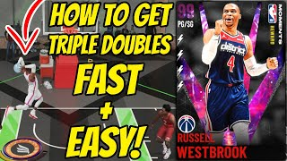 How to get Trİple Doubles FAST & EASY Method - FREE Dark Matter Russell Westbrook FULLY EVOLVED!