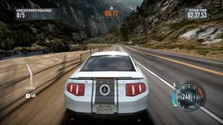 Need for speed RUN gameplay... Mastang