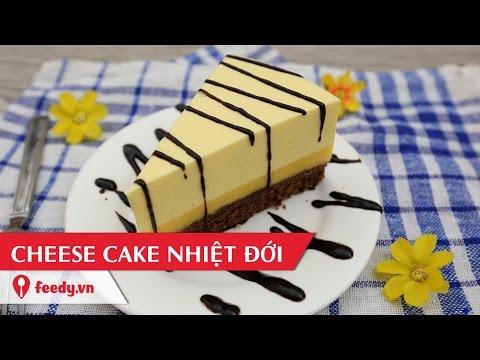 Hướng dẫn cách làm bánh cheese cake nhiệt đới - Tropical Cheesecake