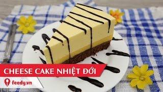 Hướng dẫn cách làm bánh cheese cake nhiệt đới với #Feedy - Tropical Cheesecake | Feedy VN