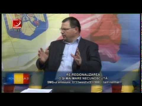 Corneliu Berari şi Ion Stan la West TV despre Regionalizare (part. I)