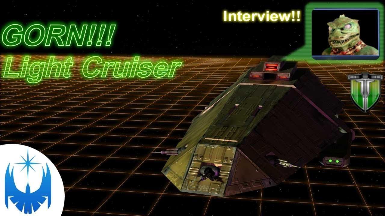 GORN TOUGH!! Light Cruiser - Resurrected MA-12 Class!