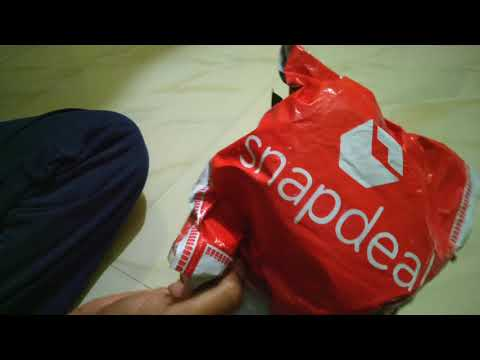 Snapdeal - Fastrack Stainless Steel Watch Unboxing Review