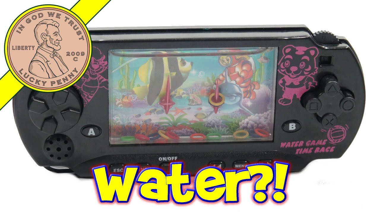 PSP Handheld Game Water Toy, Cool Toy!