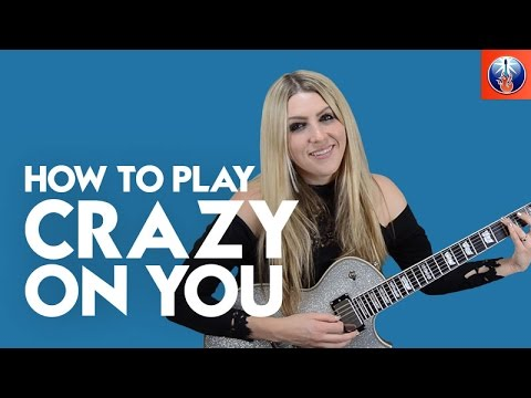 How To Play Crazy On You Heart Guitar Intro Lesson Youtube