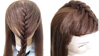 2 Mins Hairstyle for wedding | Easy Hairstyles for long hair | updo hairstyle | simple hairstyle
