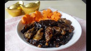 好事发财(蚝豉发菜)Braised Dried Oyster with Black Moss