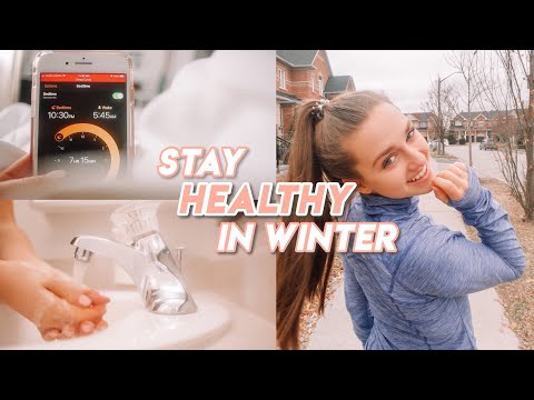 how to stay healthy in winter (we don't want the sniffles)