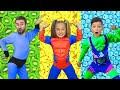 Gambar cover Sasha y Max como superhéroes y la misión de una alimentación saludable