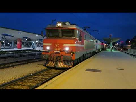 Freight Trains At Ljubljana Main Station 23 May 2018