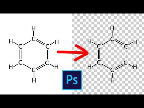 Как удалить белый фон в фотошопе