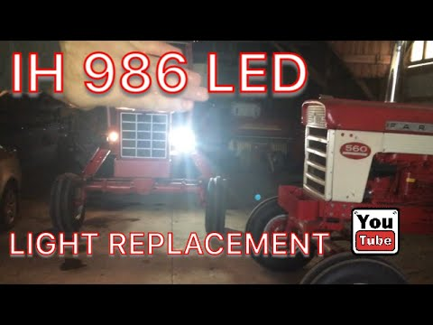 IH 986 LED Light Replacement