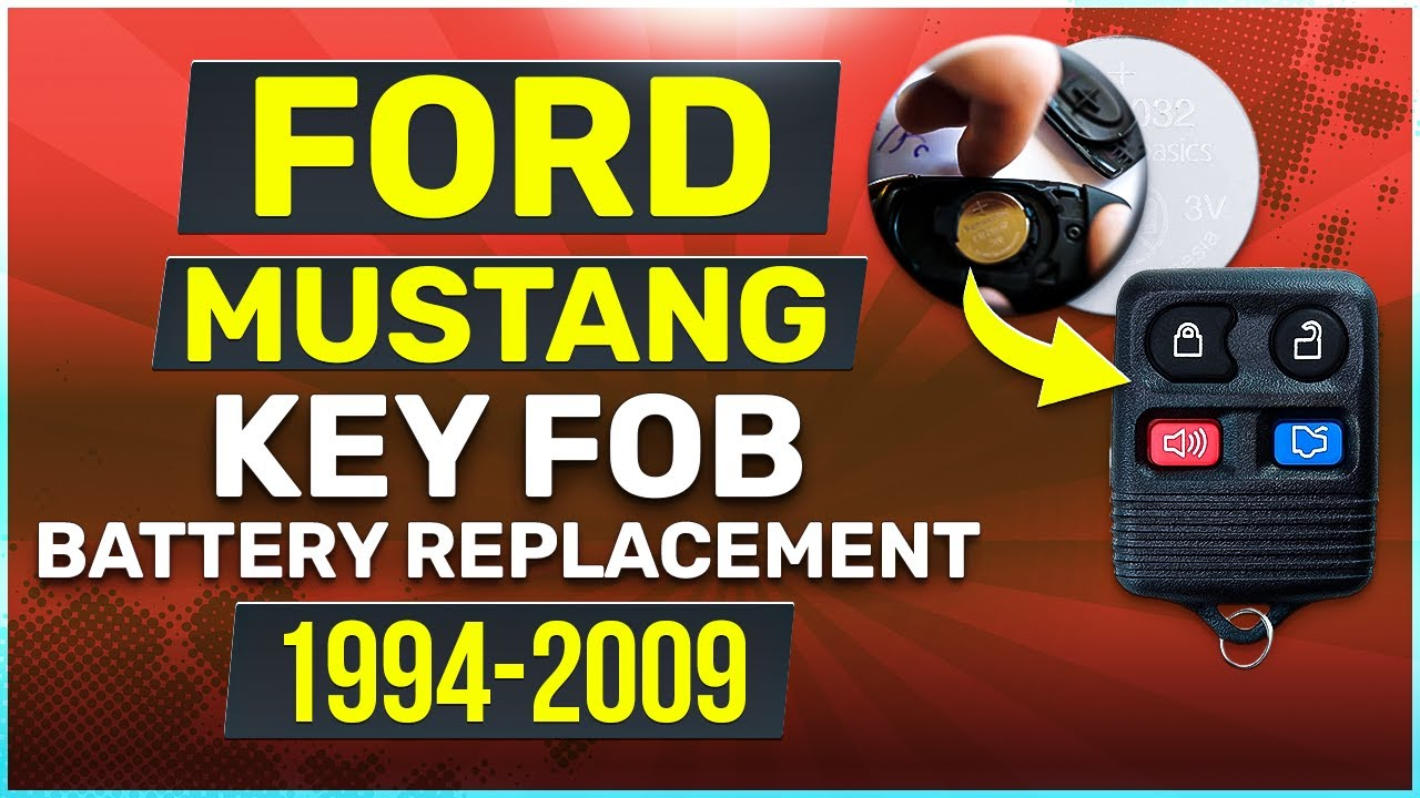 Quick Guide To Every Key Fob Battery 2015 S550 Mustang Forum Gt