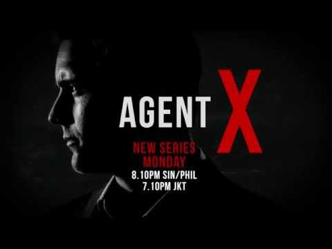 Warner TV Asia - Agent X (Brand New Series, Premieres Monday 9 November at 8:10pm)