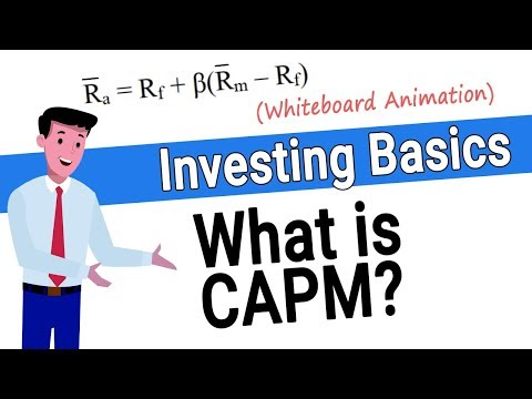 CAPM - What is the Capital Asset Pricing Model