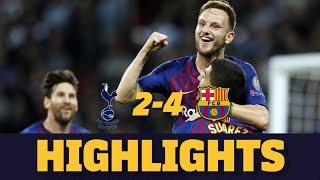 TOTTENHAM 2-4 BARÇA | Match highlights