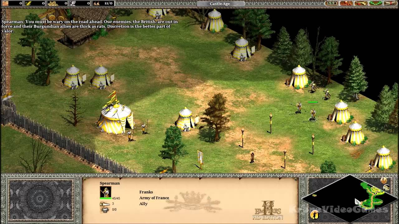 Age of Empires II: HD Edition Gameplay PC HD