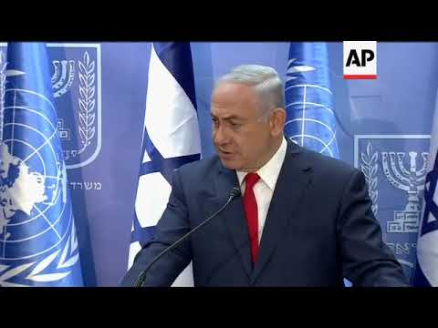 Netanyahu lectures UN chief on UNESCO rulings, Hezbollah weapons