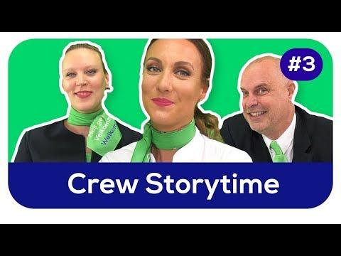 Lekker paraderen op Schiphol! Waarom wilde je steward(ess) worden? | Transavia Storytime #3