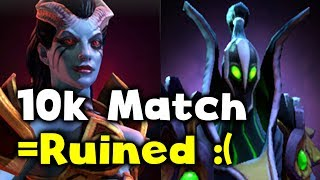 10k MMR MATCH RUINED!!! OMG SHEEEEEETSHOW :( DOTA 2